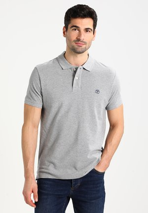 Polo shirt - med grey heat