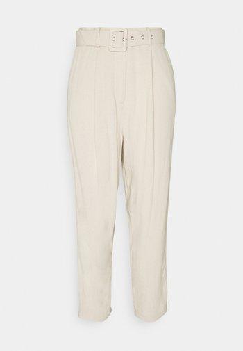 OBJHADY ANKLE PANTS  - Pantalones - sandshell