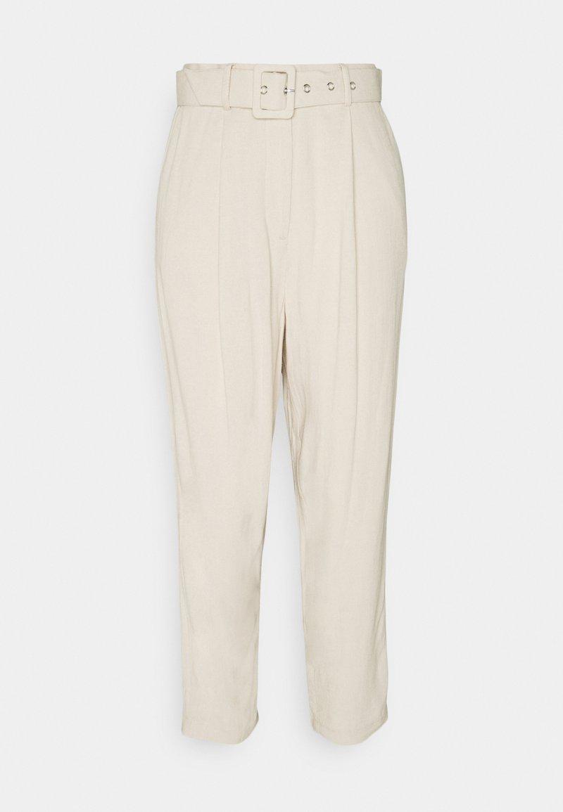 Object - OBJHADY ANKLE PANTS  - Kalhoty - sandshell