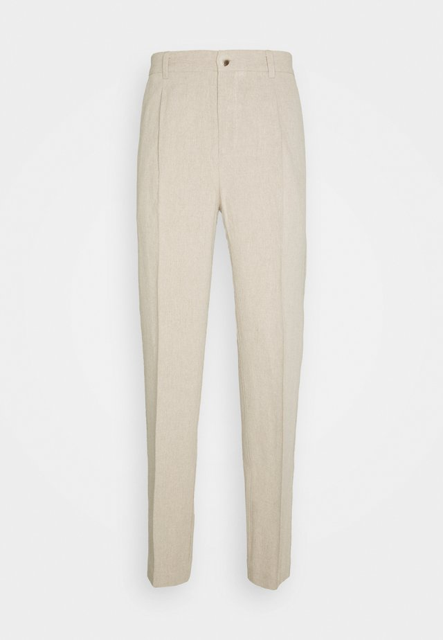 RINO TROUSER - Stoffhose - light grey