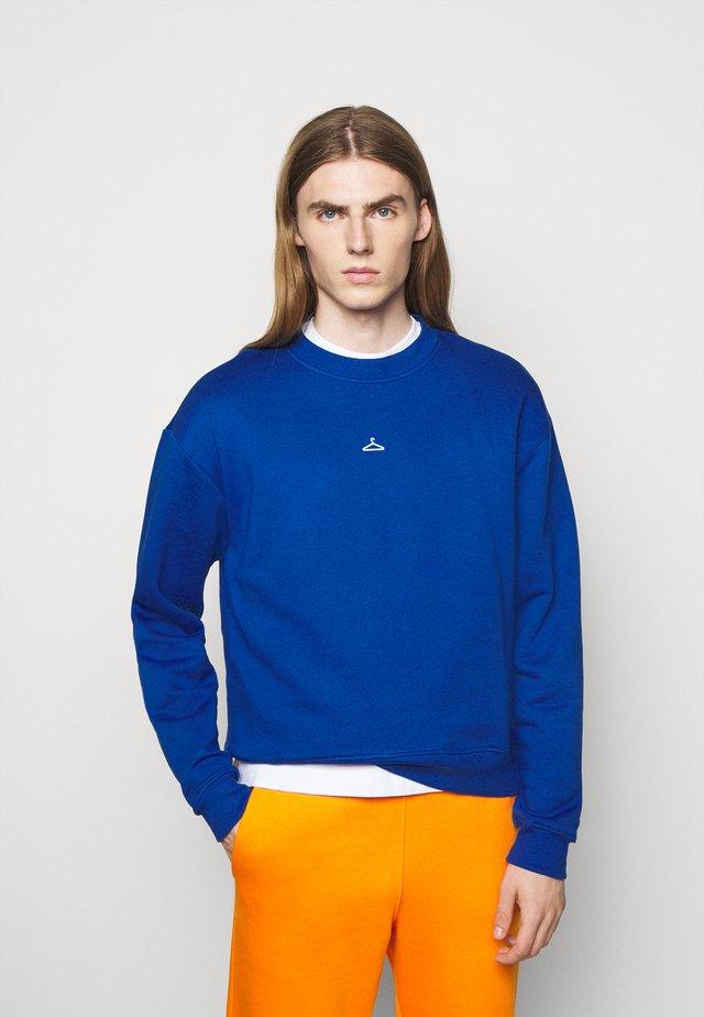 HANGER CREW - Sweatshirt - blue
