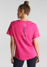 Esprit Sports - Print T-shirt - pink fuchsia - 1