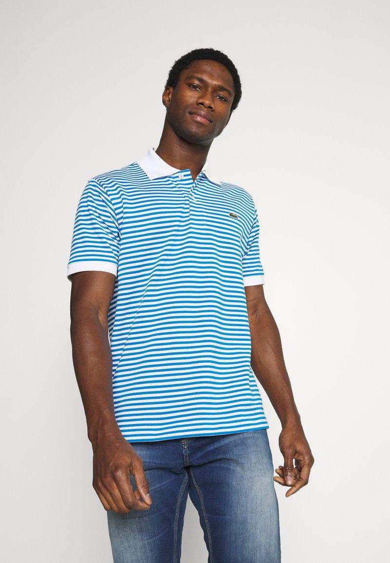 Lacoste - Polo shirt - white/ibiza
