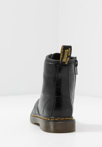Dr. Martens - 1460 J  Crinkle Metallic - Lace-up ankle boots - black metallic - 4