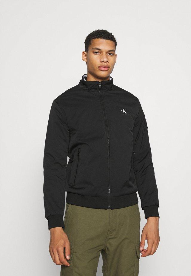 HARRINGTON PADDED JACKET - Light jacket - black