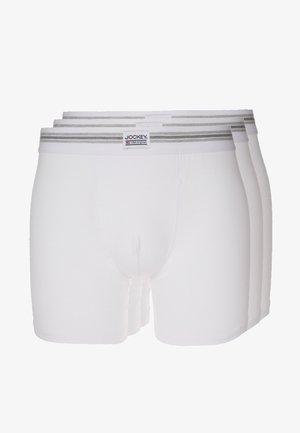 COTTON STRETCH LONG LEG TRUNK 3 PACK - Onderbroeken - white