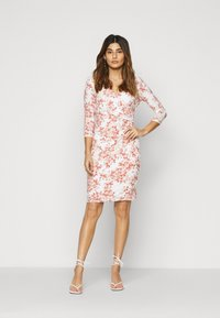 Lauren Ralph Lauren Petite - CLEORA - Shift dress - cream/pink/multi - 1