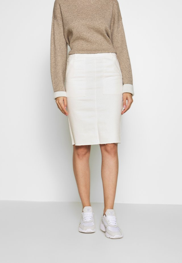 SKIRT - Kokerrok - off white