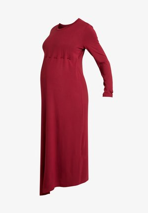 DRESS SOPHIA NURSING - Jerseyjurk - claret
