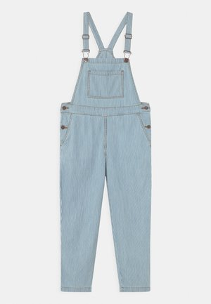STRIPED DUNGAREE UNISEX - Dungarees - blue