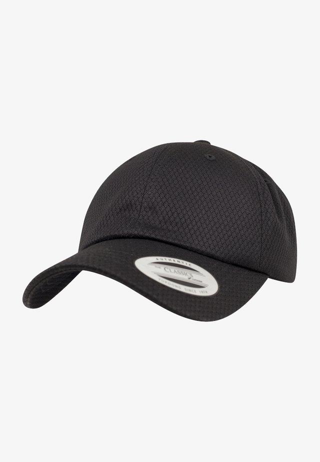 HONEYCOMB DAD CAP - Pet - black