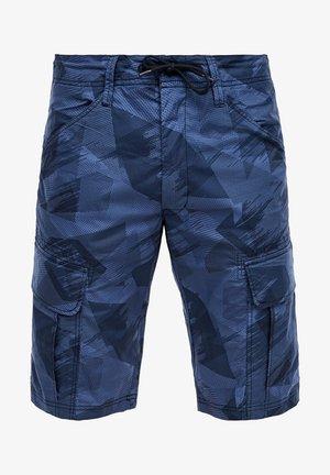 Shorts - dark blue aop