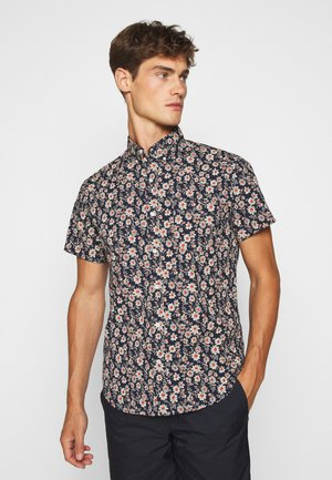 SECRET BOUQUET FLORAL - Shirt - navy/red