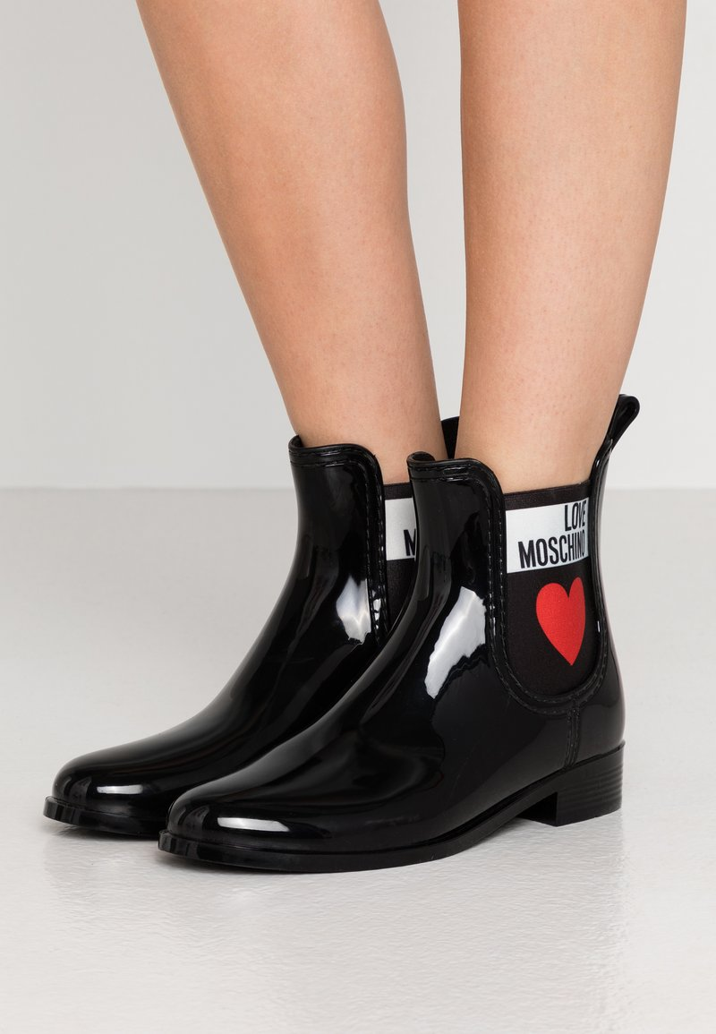Love Moschino - Wellies - nero