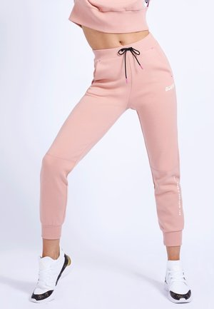 Tracksuit bottoms - mehrfarbe rose