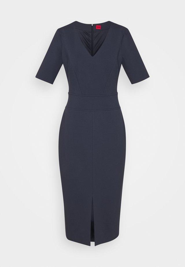 KELISEA - Žerzejové šaty - dark blue
