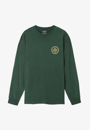 MN CHECKER 66 LS - Bluzka z długim rękawem - pine needle