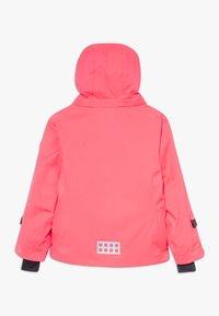 LEGO Wear - LWJODIE 700 - Snowboard jacket - coral red - 1