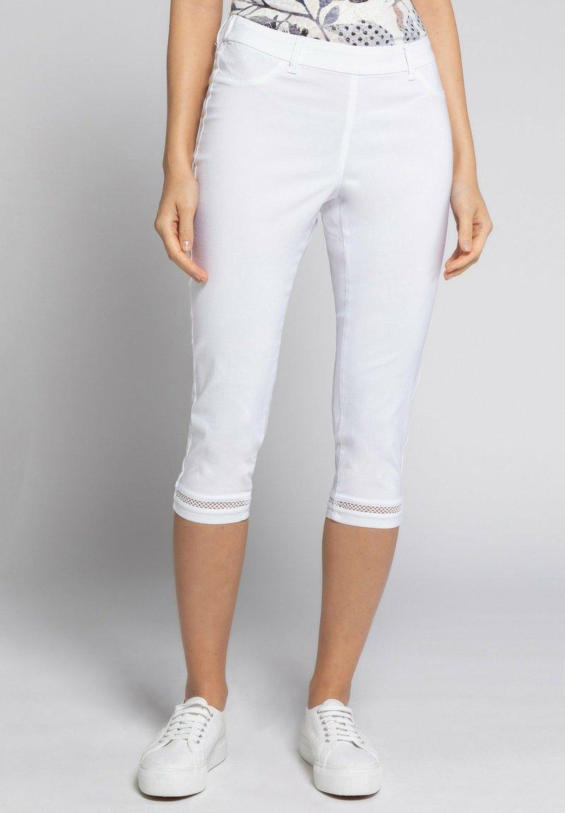GINA LAURA - JULIA - Trousers - weiß