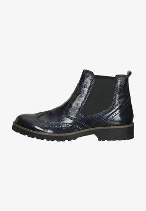 Ankle boot - dunkelblau/blau