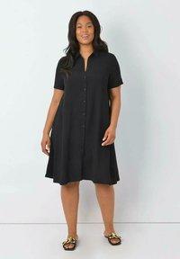 Live Unlimited London - Shirt dress - black - 0