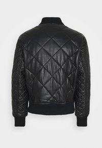 Versace Jeans Couture - Leather jacket - nero - 1