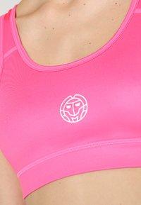 BIDI BADU - JUDE TECH BRA - Sportovní podprsenky s lehkou oporou - pink - 5