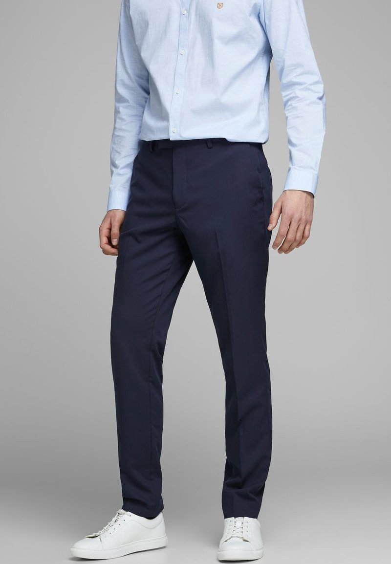 Jack & Jones PREMIUM - Suit trousers - dark navy