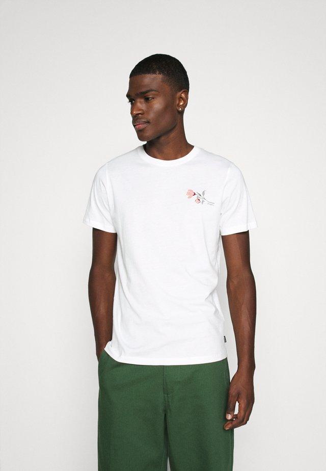 JPRDILLON TEE  - T-shirt imprimé - blanc