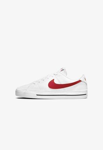 SKO COURT LEGACY - Sneakers - white/black/university red