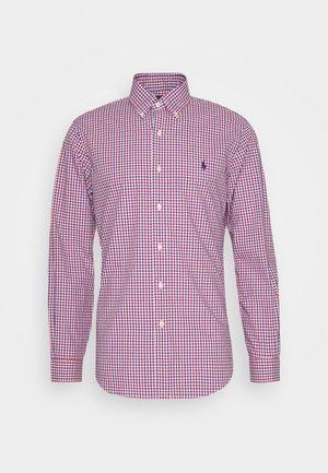 LONG SLEEVE SPORT - Shirt - red/blue