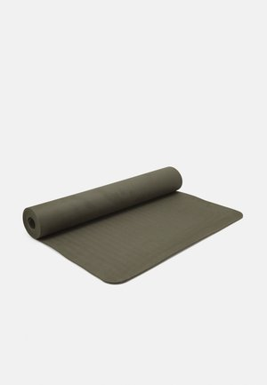 EXERCISE MAT BALANCE 4MM  - Fitness/yoga - forest green