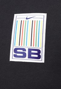 Nike SB - STRIPES CREW UNISEX - Sweatshirt - black/white - 5