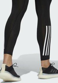 adidas Performance - TECHFIT 3-STRIPES LONG TIGHTS - Leggings - black - 5