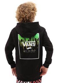 Vans - BY PRINT BOX BACK PO BOYS - Hoodie - black slime - 1