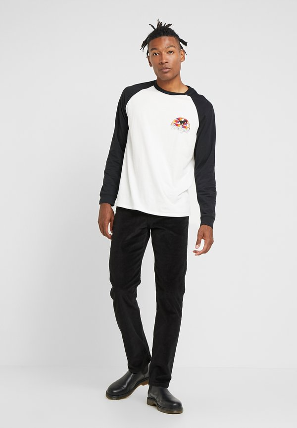 Wrangler ARIZONA - Spodnie materiałowe - black/czarny Odzież Męska NYQY
