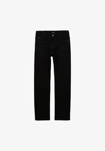 TECNICO - Straight leg jeans - denim black lave