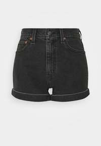Levi's® - MOM LINE  - Shorts di jeans - black denim - 4