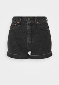 MOM LINE  - Denim shorts - black denim