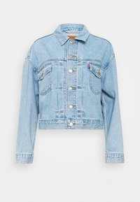 NEW HERITAGE TRUCKER - Denim jacket - light blue denim