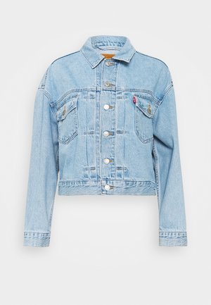 NEW HERITAGE TRUCKER - Jeansjacke - light blue denim