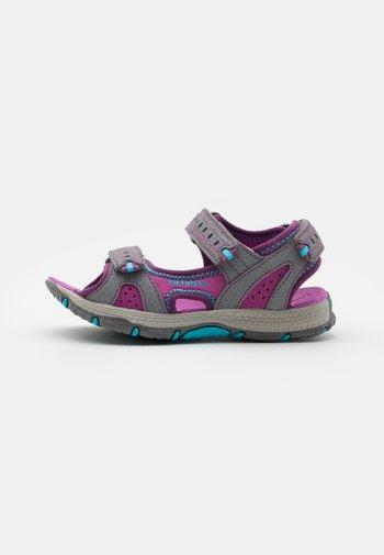 PANTHER 2.0 UNISEX - Walking sandals - grey