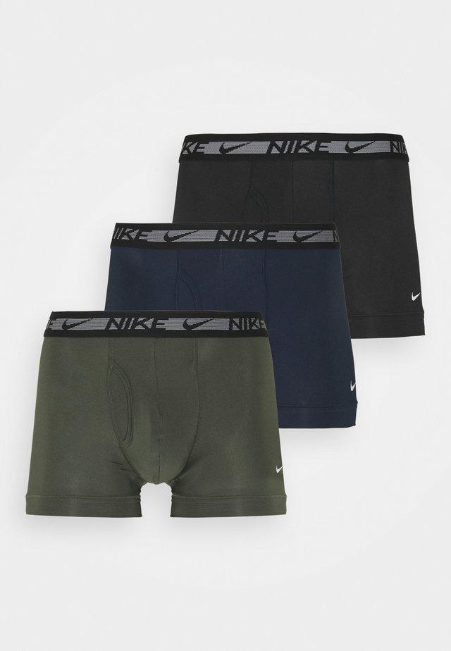 TRUNK FLEX 3 PACK - Boxerky - cargo khaki/obsidian/black