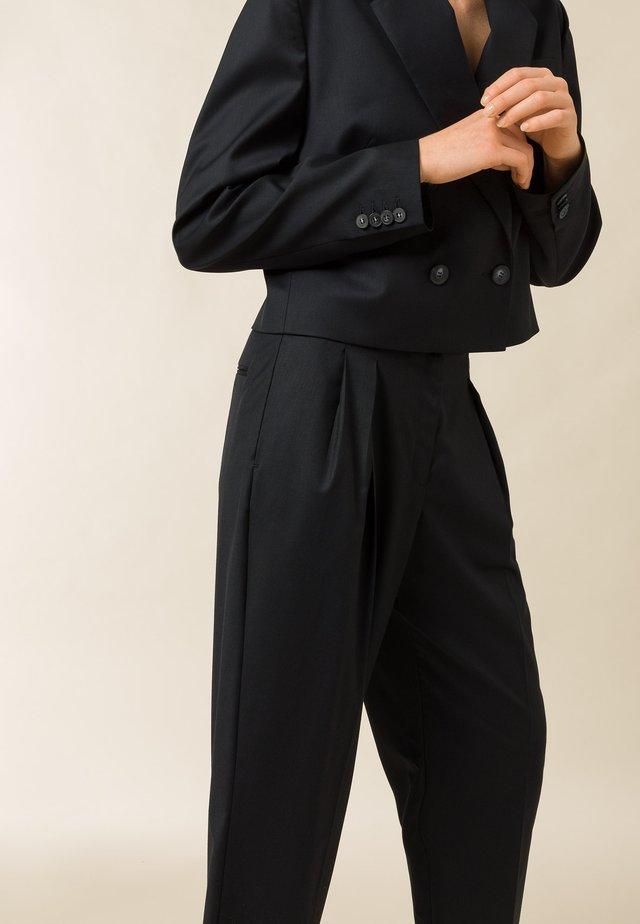 SHRUB - Spodnie materiałowe - navy blue