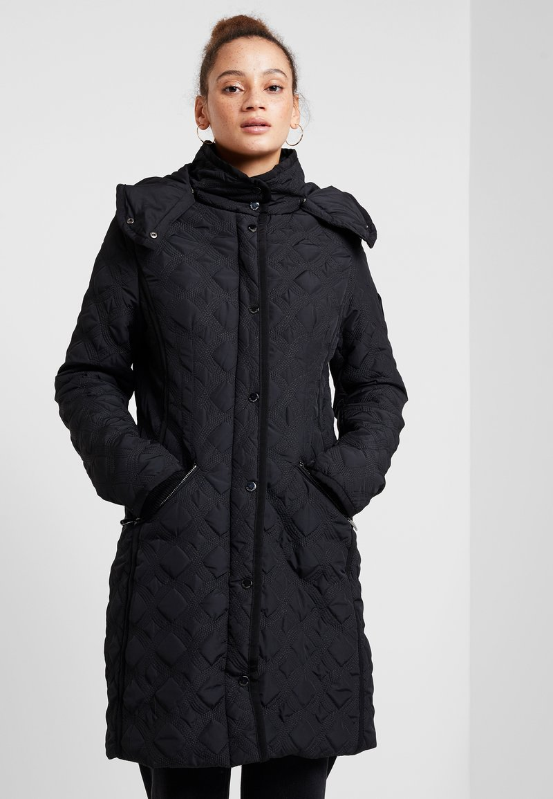 Desigual - PADDED LEICESTER - Cappotto invernale - black