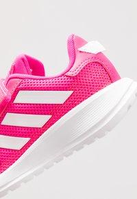 adidas Performance - TENSAUR RUN UNISEX - Scarpe running neutre - shock pink/footwear white/shock red - 2