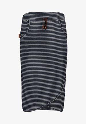 LUCY LONGAK - Wrap skirt - marine