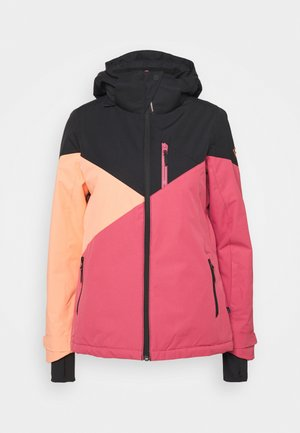 SHEERWATER WOMEN SNOWJACKET - Snowboardová bunda - pink grape