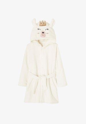Dressing gown - wollweiß meliert