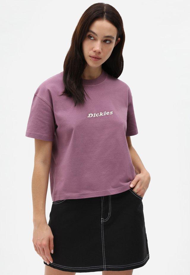 LORETTO TEE - T-shirt con stampa - purple gumdrop